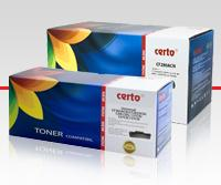 Certo New sunt cartuse compatibile de calitate premium, testate individual si certificate conform ISO-19752, ISO 19798, STMC.