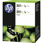 TWIN PACK COLOR NR.301XL D8J46AE 2X8ML ORIGINAL HP DESKJET 2050